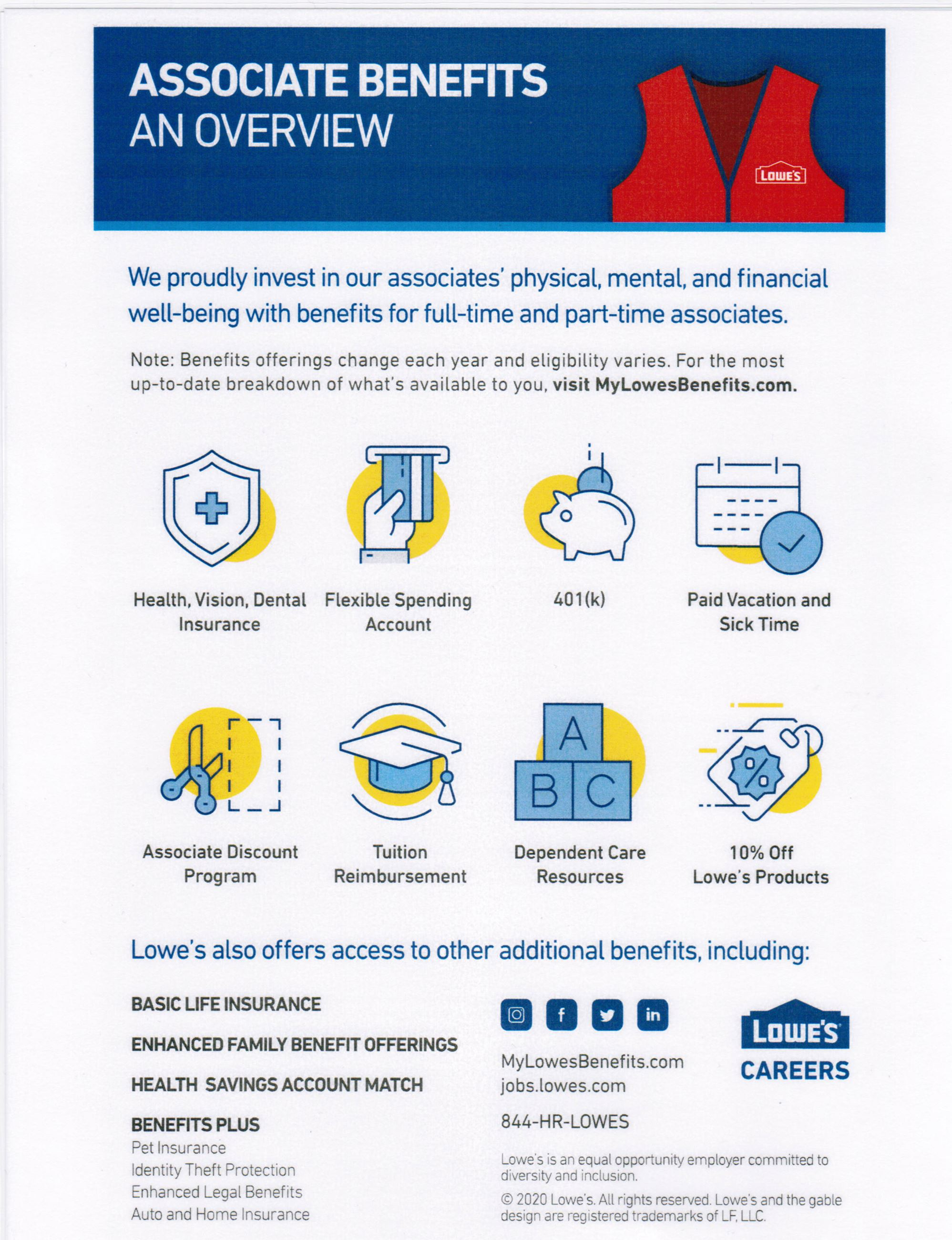 Lowes Benefits